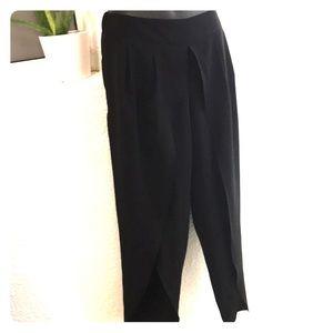 Split leg pants